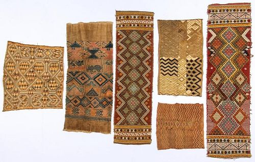 6 Asian and African Ethnographic Textiles