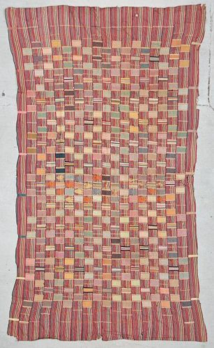 Semi-Antique African Ewe Cloth