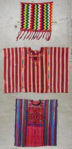 3 Mexican Textiles