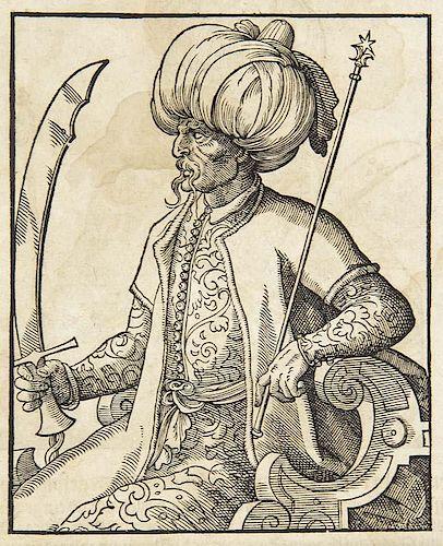Diaz Tanco de Fregenal, V I. Tuerckische Chronica. Wahrhaffte eigentliche und kurtze Beschreibung, der Tuercken Ankunfft, Reg