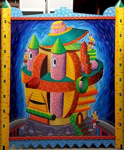 Rodney Alan Greenblat Painting
