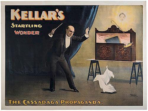 Kellar, Harry (Heinrich Keller). Kellar's Startling Wonder. The Cassadaga Propaganda.