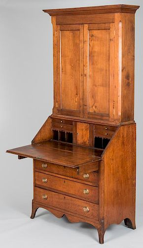 Tennessee Federal Desk and Bookcase