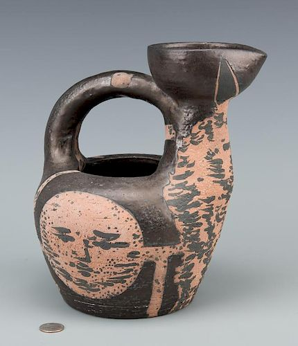 """Picasso Ceramic Vessel """"Centaur Au Visages"""""""