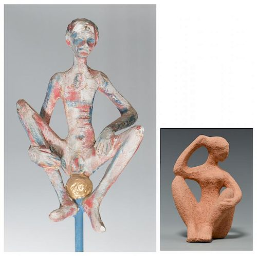 2 Duane Hanson Early Sculptures and Archive