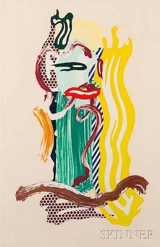 Roy Lichtenstein (American, 1923-1997)      Portrait