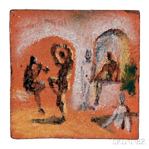 Pablo Picasso (Spanish, 1881-1973)      Le joueur de diole