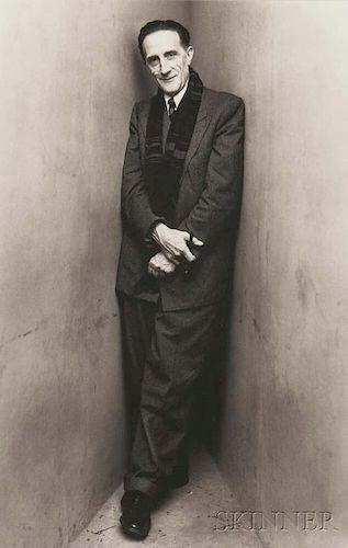 Irving Penn (American, 1917-2009)      Marcel Duchamp, New York