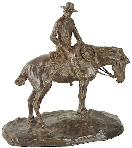 Charles Marion Russell 1864 - 1926 | The Horse Wrangler, The Night Herder, The Night Hawk (variant titles)