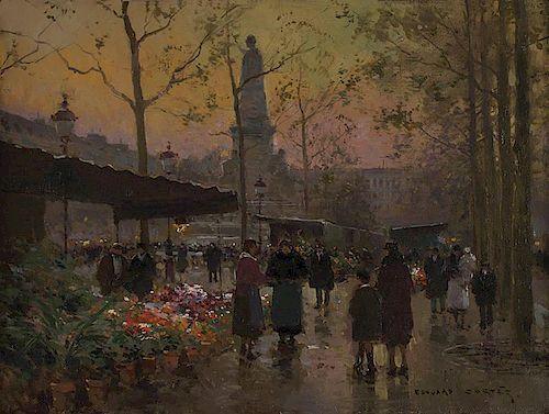 Edouard Cortes 1882 - 1969 SAF | Paris, Aux Fleurs