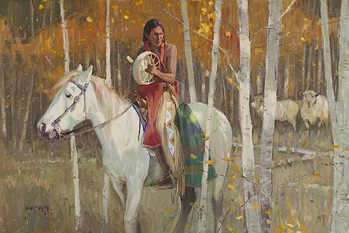 John Moyers b. 1958 CAA | Aspen Song