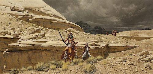 Frank McCarthy 1924 - 2002 AAA, AOA, CAA, NAWA, NWR | Renegade Apaches
