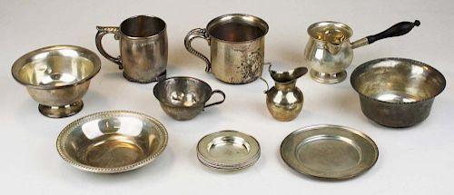 Sterling Silver Hollowware Pcs