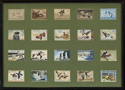 Twenty Federal Duck Stamps