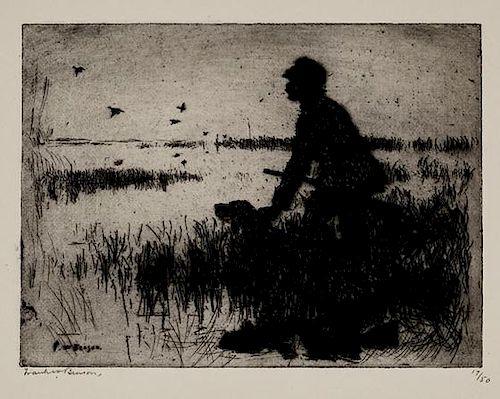 Frank W. Benson (1862-1951) Duck Hunter
