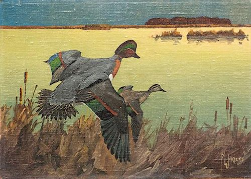 Francis Lee Jaques (1887-1969) Green-Winged Teal