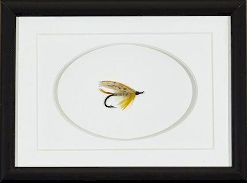 Megan Boyd Two Atlantic Salmon Flies(1915-2001)