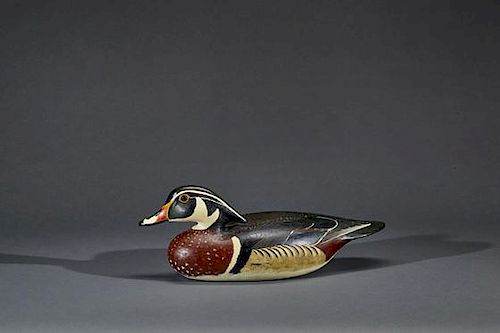 """Wood Duck James """"Corb"""" Reed (1897-1987)"""