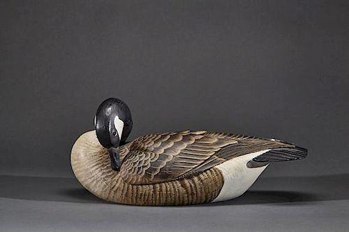 Preening Canada Goose Lemuel T. Ward (1896-1983)