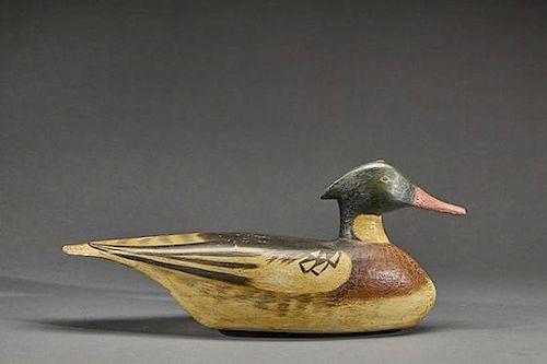 "Red-Breasted Merganser Ulysses ""Les"" Van Brunt (1873-1961)"