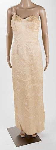 An Evening Gown and Shawl Owned and Likely Worn by Marilyn Monroe.