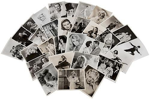 Archive of Movie Stills and Glamour Photos.