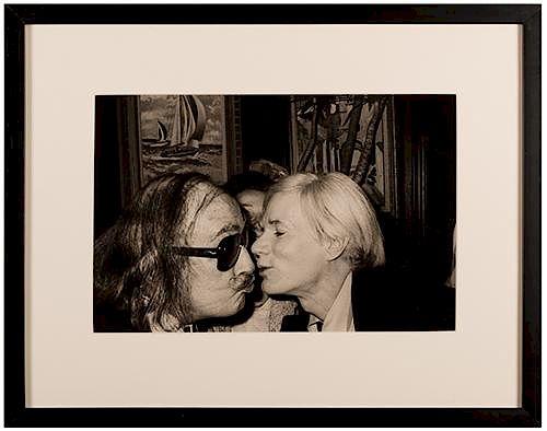 Set of Four Warhol Photographs.