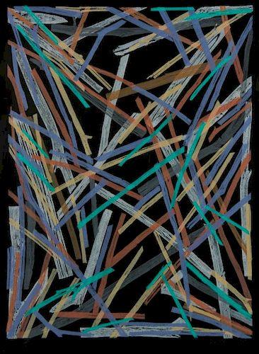 Charles Arnoldi (American, b.1946) Woodcut