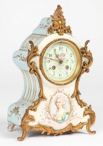 Sevres Style Bracket Clock
