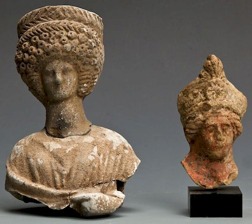 2 Hellenistic Clay Artifacts