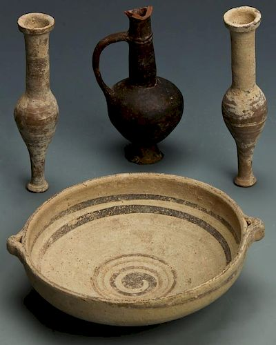 Ancient Cypriot Earthenware Artifacts