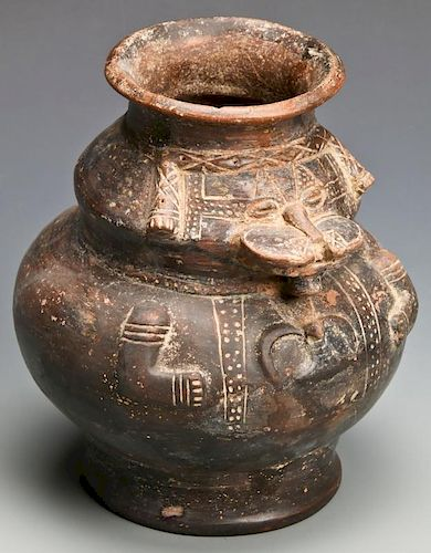 Pre Columbian Tairona Jar