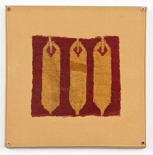 Tapestry Fragment, Chimu Culture (1100-1400 CE)