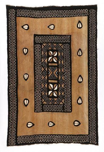 Vintage West African Mud Cloth: 4'11'' x 7'7''