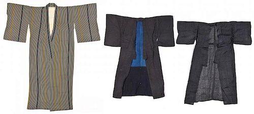3 Japanese Kimono