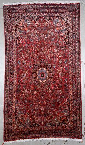 "Semi-Antique Bidjar Rug: 6'11"" x 12'2"" (211 x 371 cm)"