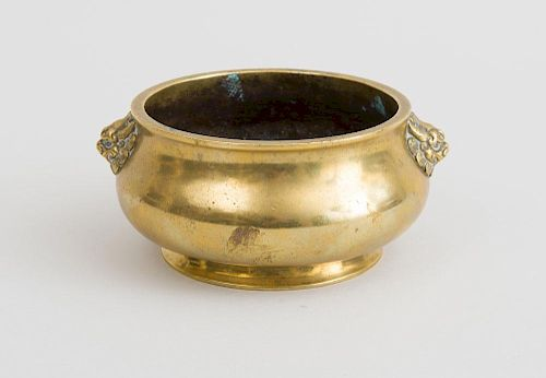 CHINESE MING STYLE BRONZE CENSER