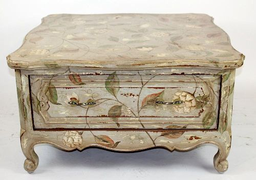 French Provincial distressed coffee table