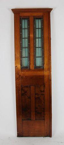 American pine door panel