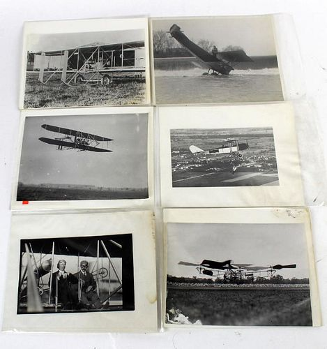 Lot of 6 William Preston Mayfield photos