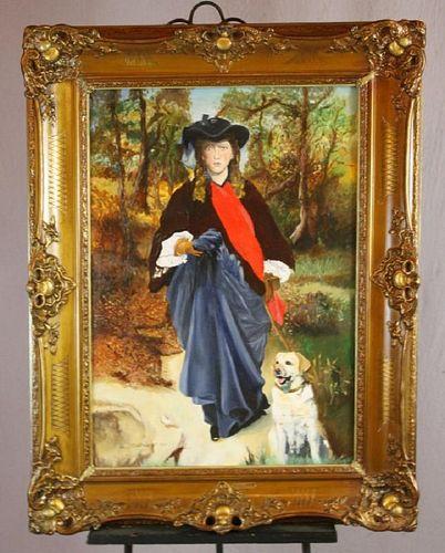 Ferdinand Cootmans oil on canvas painting