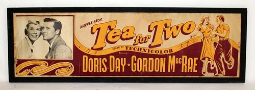Vintage Tea for Two movie advertisement