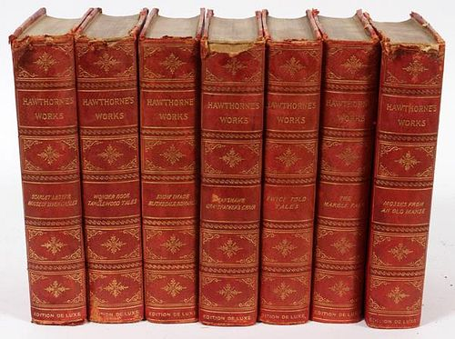 THE WORKS OF NATHANIEL HAWTHORNE C. 1902