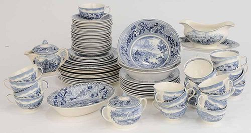 Set of Seventy Eight Pieces China