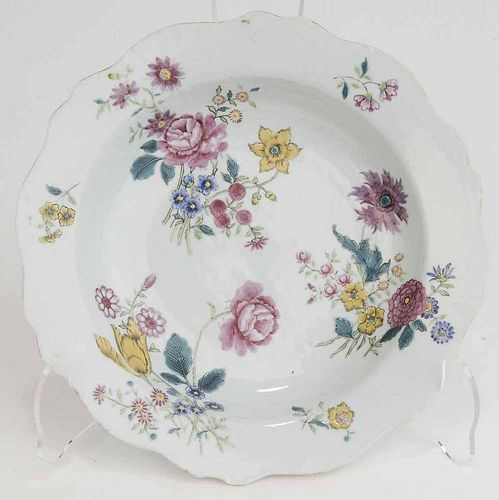 Chinese Porcelain Famille Rose Soup