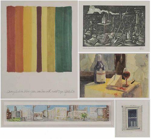 Five Modern Works of Art