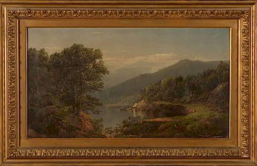 WILLIAM LOUIS SONNTAG SR. (1822-1900) OIL ON CANVAS