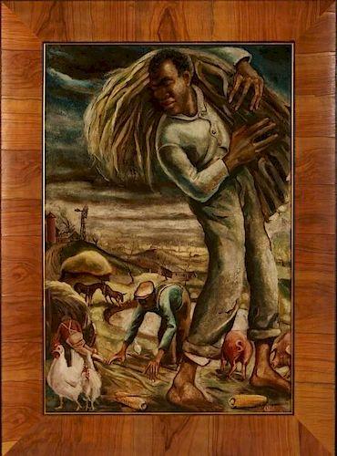 JOSEPH PAUL VORST (1897-1947) OIL ON PANEL