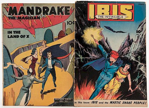 Two Magic-Related Comic Books  by Potter & Potter Auctions - 755122