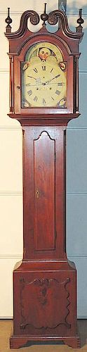 Delaware Valley Federal Tall-case Clock